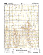East Bridge Creek North Kansas Current topographic map, 1:24000 scale, 7.5 X 7.5 Minute, Year 2015 from Kansas Map Store