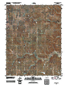 Easton SW Kansas Historical topographic map, 1:24000 scale, 7.5 X 7.5 Minute, Year 2009
