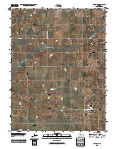 Effingham Kansas Historical topographic map, 1:24000 scale, 7.5 X 7.5 Minute, Year 2009
