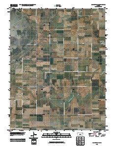 Ellinwood NE Kansas Historical topographic map, 1:24000 scale, 7.5 X 7.5 Minute, Year 2009