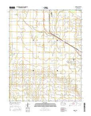 Elmer Kansas Current topographic map, 1:24000 scale, 7.5 X 7.5 Minute, Year 2015 from Kansas Maps Store