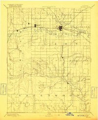 Emporia Kansas Historical topographic map, 1:125000 scale, 30 X 30 Minute, Year 1894
