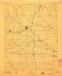 Eureka Kansas Historical topographic map, 1:125000 scale, 30 X 30 Minute, Year 1894