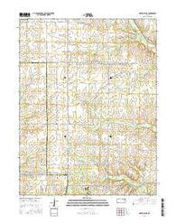 Fort Riley NE Kansas Current topographic map, 1:24000 scale, 7.5 X 7.5 Minute, Year 2016