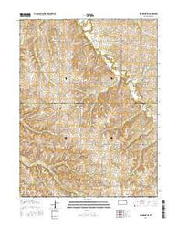 Frankfort SW Kansas Current topographic map, 1:24000 scale, 7.5 X 7.5 Minute, Year 2016