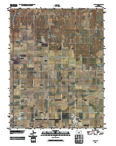 Galva Kansas Historical topographic map, 1:24000 scale, 7.5 X 7.5 Minute, Year 2009