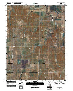 Glasco SW Kansas Historical topographic map, 1:24000 scale, 7.5 X 7.5 Minute, Year 2009