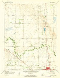 Great Bend NE Kansas Historical topographic map, 1:24000 scale, 7.5 X 7.5 Minute, Year 1959