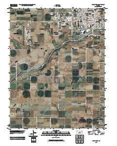 Great Bend Kansas Historical topographic map, 1:24000 scale, 7.5 X 7.5 Minute, Year 2009