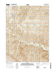 Greenleaf Kansas Current topographic map, 1:24000 scale, 7.5 X 7.5 Minute, Year 2016
