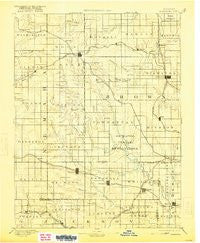Hiawatha Kansas Historical topographic map, 1:125000 scale, 30 X 30 Minute, Year 1894
