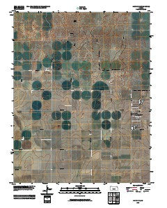 Hickok NE Kansas Historical topographic map, 1:24000 scale, 7.5 X 7.5 Minute, Year 2009