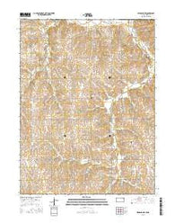 Highland NW Kansas Current topographic map, 1:24000 scale, 7.5 X 7.5 Minute, Year 2016