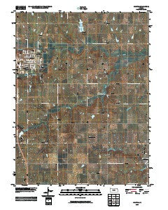 Holton Kansas Historical topographic map, 1:24000 scale, 7.5 X 7.5 Minute, Year 2009