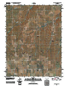 Holyrood NW Kansas Historical topographic map, 1:24000 scale, 7.5 X 7.5 Minute, Year 2009