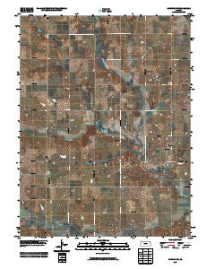 Horton NW Kansas Historical topographic map, 1:24000 scale, 7.5 X 7.5 Minute, Year 2009
