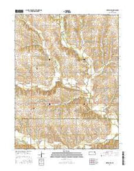 Horton NW Kansas Current topographic map, 1:24000 scale, 7.5 X 7.5 Minute, Year 2016