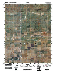 Hudson SE Kansas Historical topographic map, 1:24000 scale, 7.5 X 7.5 Minute, Year 2009