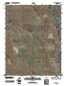 Indian Creek Kansas Historical topographic map, 1:24000 scale, 7.5 X 7.5 Minute, Year 2009