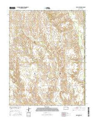 Indian Creek Kansas Current topographic map, 1:24000 scale, 7.5 X 7.5 Minute, Year 2016