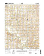 Industry Kansas Current topographic map, 1:24000 scale, 7.5 X 7.5 Minute, Year 2015 from Kansas Map Store