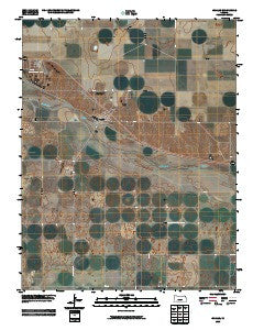 Ingalls Kansas Historical topographic map, 1:24000 scale, 7.5 X 7.5 Minute, Year 2009