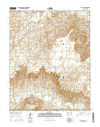 Irish Flats Kansas Current topographic map, 1:24000 scale, 7.5 X 7.5 Minute, Year 2016