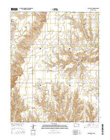 Irish Flats NE Kansas Current topographic map, 1:24000 scale, 7.5 X 7.5 Minute, Year 2016