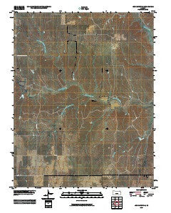 Iron Mountain Kansas Historical topographic map, 1:24000 scale, 7.5 X 7.5 Minute, Year 2009