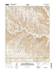 Iron Mountain Kansas Current topographic map, 1:24000 scale, 7.5 X 7.5 Minute, Year 2016