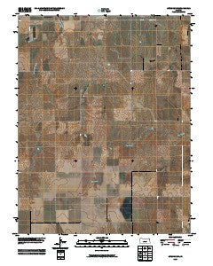 Jetmore NW Kansas Historical topographic map, 1:24000 scale, 7.5 X 7.5 Minute, Year 2009