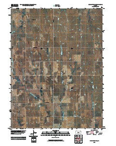 Kensington NE Kansas Historical topographic map, 1:24000 scale, 7.5 X 7.5 Minute, Year 2009
