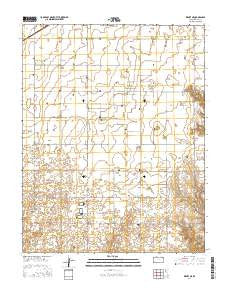 Kismet NE Kansas Current topographic map, 1:24000 scale, 7.5 X 7.5 Minute, Year 2016