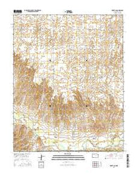 Kismet SE Kansas Current topographic map, 1:24000 scale, 7.5 X 7.5 Minute, Year 2016