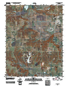 La Cygne Kansas Historical topographic map, 1:24000 scale, 7.5 X 7.5 Minute, Year 2009