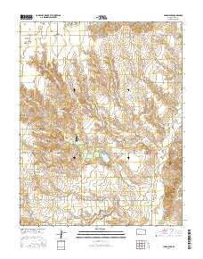 Lake Meade Kansas Current topographic map, 1:24000 scale, 7.5 X 7.5 Minute, Year 2016