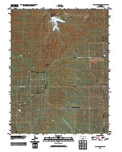 Lake Wabaunsee Kansas Historical topographic map, 1:24000 scale, 7.5 X 7.5 Minute, Year 2009