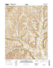Lapland Kansas Current topographic map, 1:24000 scale, 7.5 X 7.5 Minute, Year 2015 from Kansas Maps Store