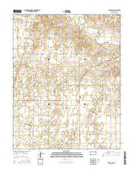 Liberal NW Kansas Current topographic map, 1:24000 scale, 7.5 X 7.5 Minute, Year 2016