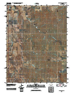 Lindsborg SE Kansas Historical topographic map, 1:24000 scale, 7.5 X 7.5 Minute, Year 2009