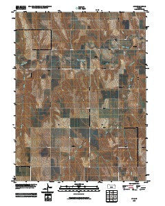 Lyle Kansas Historical topographic map, 1:24000 scale, 7.5 X 7.5 Minute, Year 2009