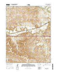 Maple Hill Kansas Current topographic map, 1:24000 scale, 7.5 X 7.5 Minute, Year 2016