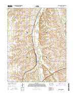 Matfield Green Kansas Current topographic map, 1:24000 scale, 7.5 X 7.5 Minute, Year 2015 from Kansas Map Store