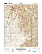 Matfield Green SE Kansas Current topographic map, 1:24000 scale, 7.5 X 7.5 Minute, Year 2015 from Kansas Map Store