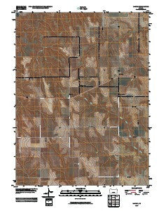 Midway Kansas Historical topographic map, 1:24000 scale, 7.5 X 7.5 Minute, Year 2009