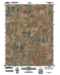 Miltonvale NW Kansas Historical topographic map, 1:24000 scale, 7.5 X 7.5 Minute, Year 2009