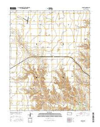 Missler Kansas Current topographic map, 1:24000 scale, 7.5 X 7.5 Minute, Year 2016