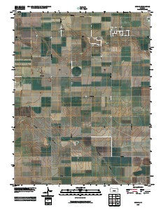 Modoc Kansas Historical topographic map, 1:24000 scale, 7.5 X 7.5 Minute, Year 2009