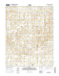 Montezuma NW Kansas Current topographic map, 1:24000 scale, 7.5 X 7.5 Minute, Year 2016