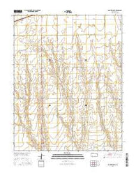 Montezuma SE Kansas Current topographic map, 1:24000 scale, 7.5 X 7.5 Minute, Year 2016